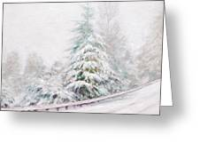 Winter Of  04 Greeting Card