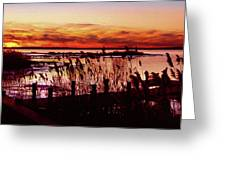 Winter On The Bay Greeting Card