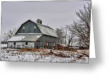 Winter On The Farm 2 Greeting Card