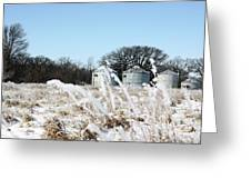Winter On The Prairie Number 2 Greeting Card