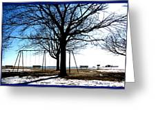 Winter On The Sound Greeting Card