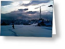 winter-Parang 3 Greeting Card