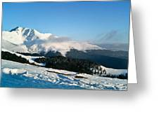 winter-Parang 6 Greeting Card