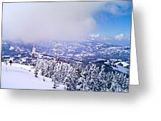winter-Parang Greeting Card