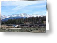 Winter Park Colorado Greeting Card