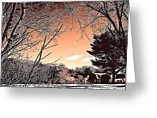 Winter Pastel Greeting Card