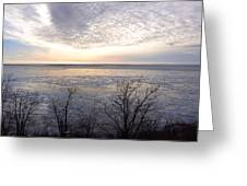 Winter Pastels Greeting Card