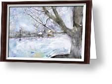 Winter Playgound II Greeting Card