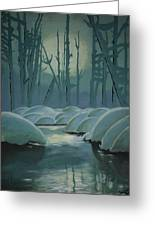 Winter Quiet Greeting Card