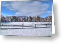 Winter Scenery 14589 Greeting Card