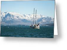 Winter Sea Greeting Card