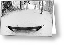 Winter Seat 1 Greeting Card