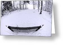 Winter Seat 2 Greeting Card