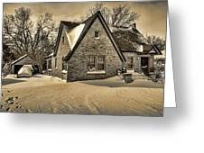 Winter Snow II Greeting Card