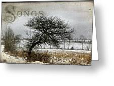 Winter Songs Greeting Card