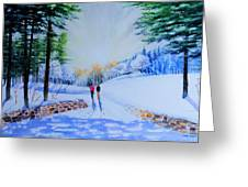 Winter Sonnet  Greeting Card