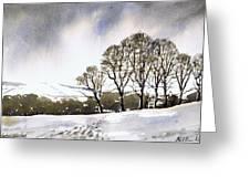 Winter Sowood Greeting Card
