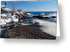 Winter Splash Greeting Card
