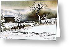 Winter Stainland Greeting Card