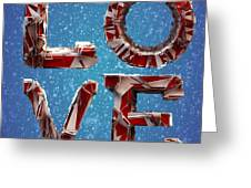 Winter Time Love Greeting Card