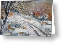 Winter I Greeting Card