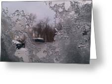 Winter View Greeting Card