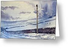 Winter Walkers Greeting Card
