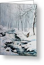 Winter Whispers Greeting Card