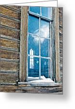 Winter Windows Greeting Card