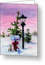 Winter Wonderland Aceo Greeting Card