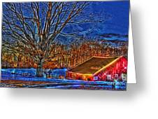 Winter Wonderland Hdr  Greeting Card