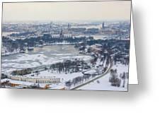 Winter Wonderland In Stockholm Greeting Card