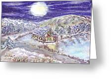 Winter Wonderland Greeting Card by Mary Sedici