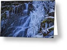 Winterfalls Greeting Card
