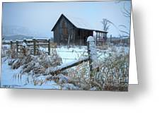 Winters Arrival Greeting Card