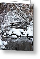 Winters Crossing Greeting Card