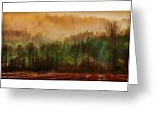 Winters End Greeting Card