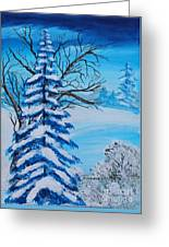 Winters Palette Greeting Card