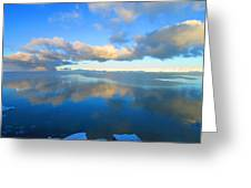 Winter's Refection Greeting Card