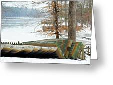 Winter's Rest Greeting Card