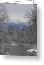Winters Retreat Greeting Card
