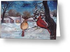 Winters Serenity Greeting Card