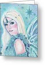 Winters Song Fairy Greeting Card