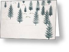 Winters Tale Greeting Card by Bri Buckley