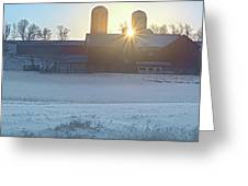 Winter's Welcome Greeting Card