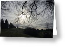 Winterscape Greeting Card