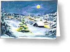 Winterwonderland Greeting Card