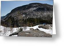 Wintry Mountainscape 1 Greeting Card