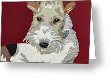 Wirehaired Fox Terrier Greeting Card