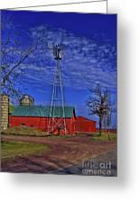 Wisconsin Amish Farm Greeting Card